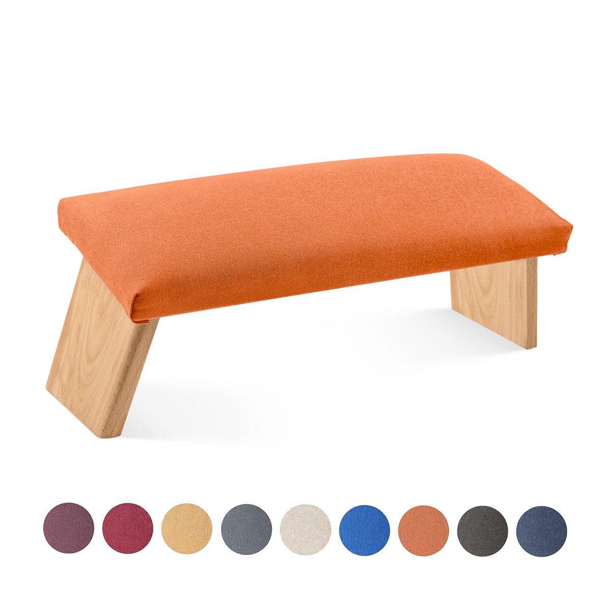 Lotuscrafts Meditationsbank Dharma inkl. gepolsterte Sitzfläche mit Bezug, klappbar