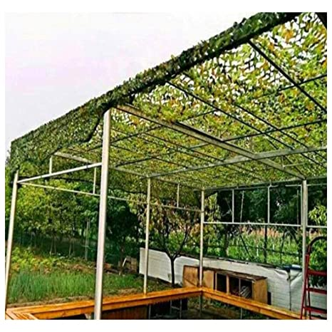 Red de Camuflaje 3x2m 3x5m Protector Solar Jardín Malla de ...