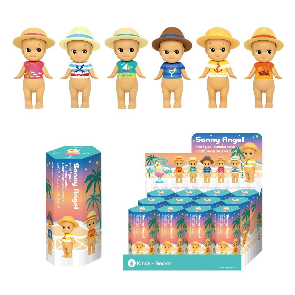 1 Sonny Angel mini figure - Summer series - Caribbean Sea Version (one piece)