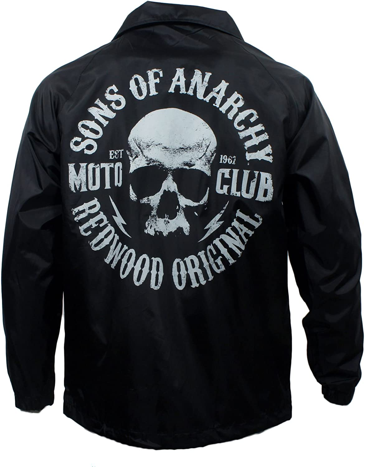 Sons Of Anarchy Men S Redwood Original Lined Coach Jacket L Amazon Ca Clothing Accessories
