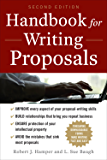 Handbook For Writing Proposals, Second Edition (Business Skills and Development)