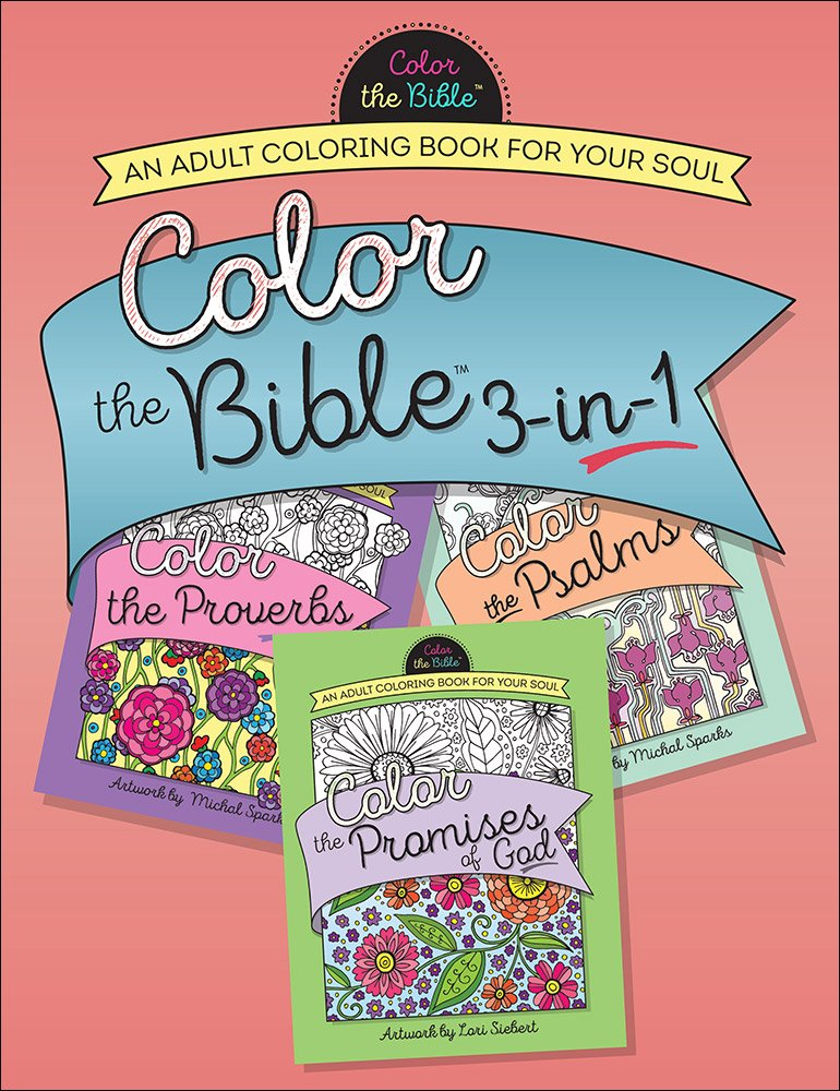 Amazon.com: Color the Bible® 3-in-1 (Volume 2): An Adult Coloring ...