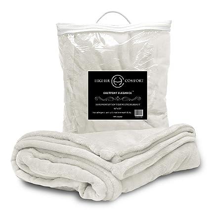 617cf8ed5860e Amazon.com: Higher Comfort Oversized Luxuriously Soft Throw Blanket ...