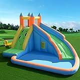 Costway Inflatable Bouncy Castle Outdoor Garden Kids Jumper House Water Slide Activity (Bouncy Castle only)