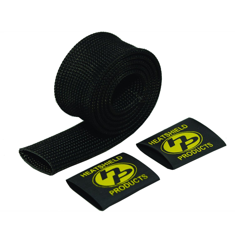 Heatshield Products 204009 Black 5/8' ID x 6' Brake Line Heat Shield Sleeve