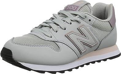 Oficial entre llamar  New Balance 500, Zapatillas de Deporte para Mujer: Amazon.es: Zapatos y  complementos