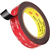 Double Sided Tape, HitLights 3M VHB Mounting Tape Heavy Duty, Waterproof Foam Tape, 16FT Length, 0.94 Inch Width for Car, LED