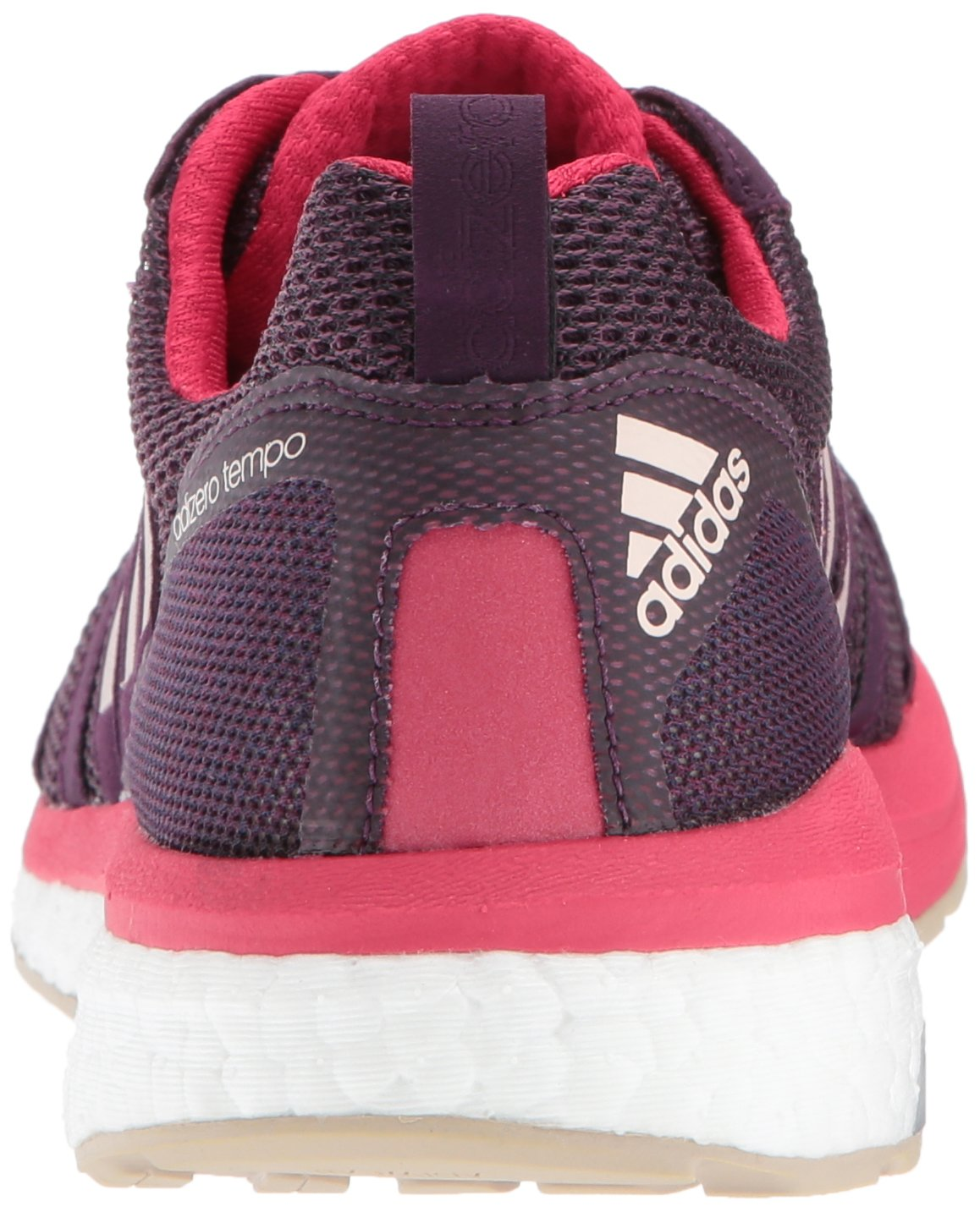 adidas Women's Adizero Tempo 9 W B01MZ20W2M 6 B(M) US|Red Night/Ice Pink/Energy Pink