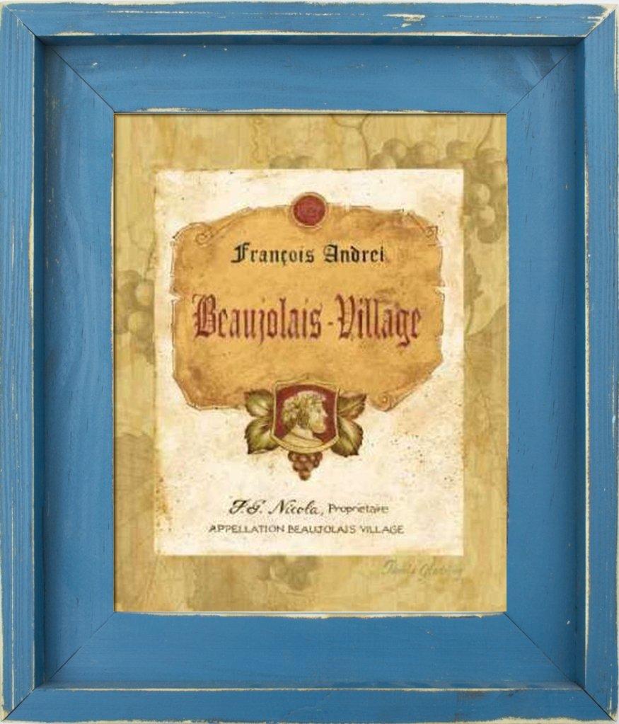 Amazon.com: Fine Framed Art: Beaujolais Village by Gladding, Pamela ...