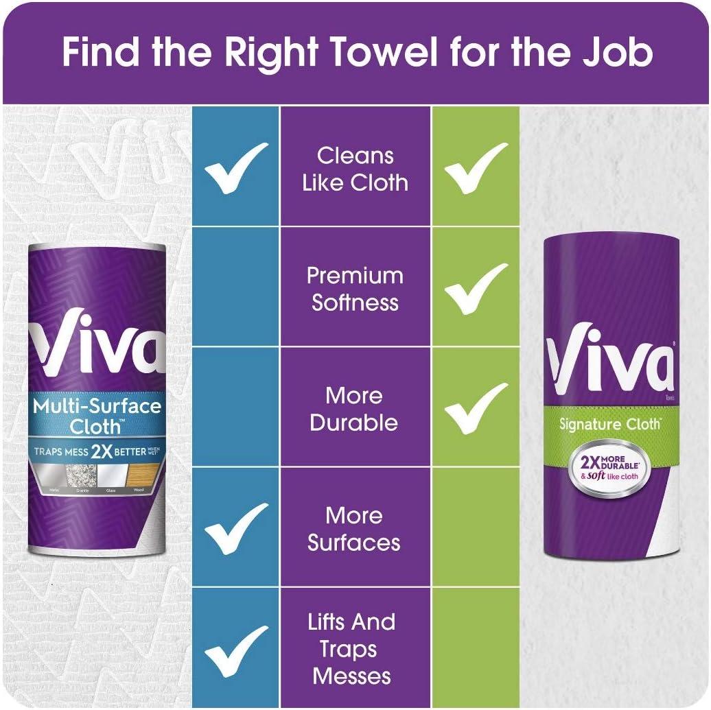 Viva Paper Towel Vantage Choose A Size 6CT