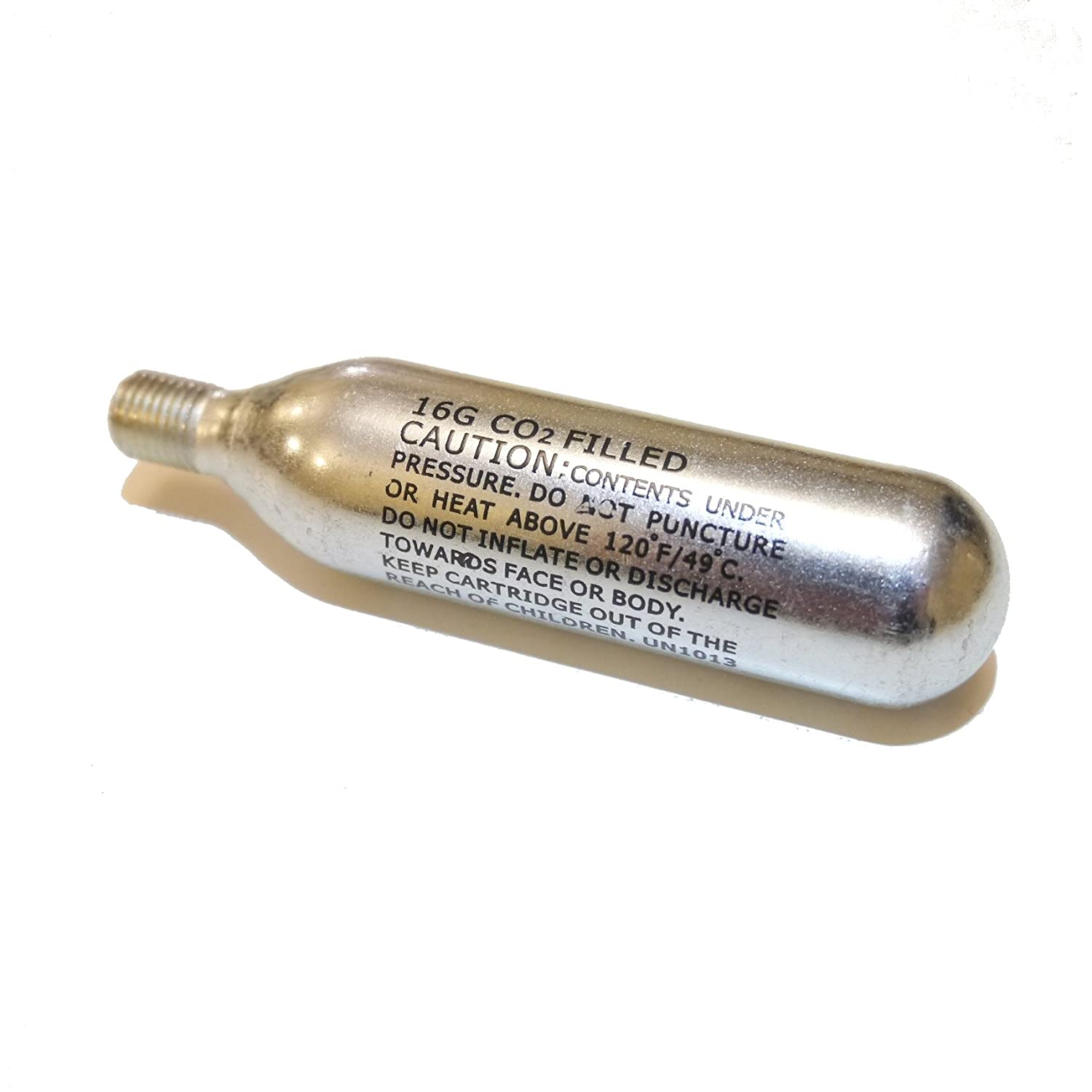 16 g Unisexs C1610T3 Threaded Chargers Silver