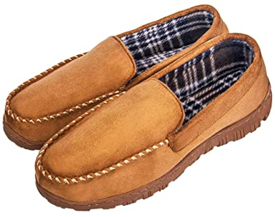 3a4d117bf459 MIXIN Men s Casual Anti Slip Rubber Sole Indoor Outdoor Slip On Driving  Loafers Moccasins Slippers Shoes