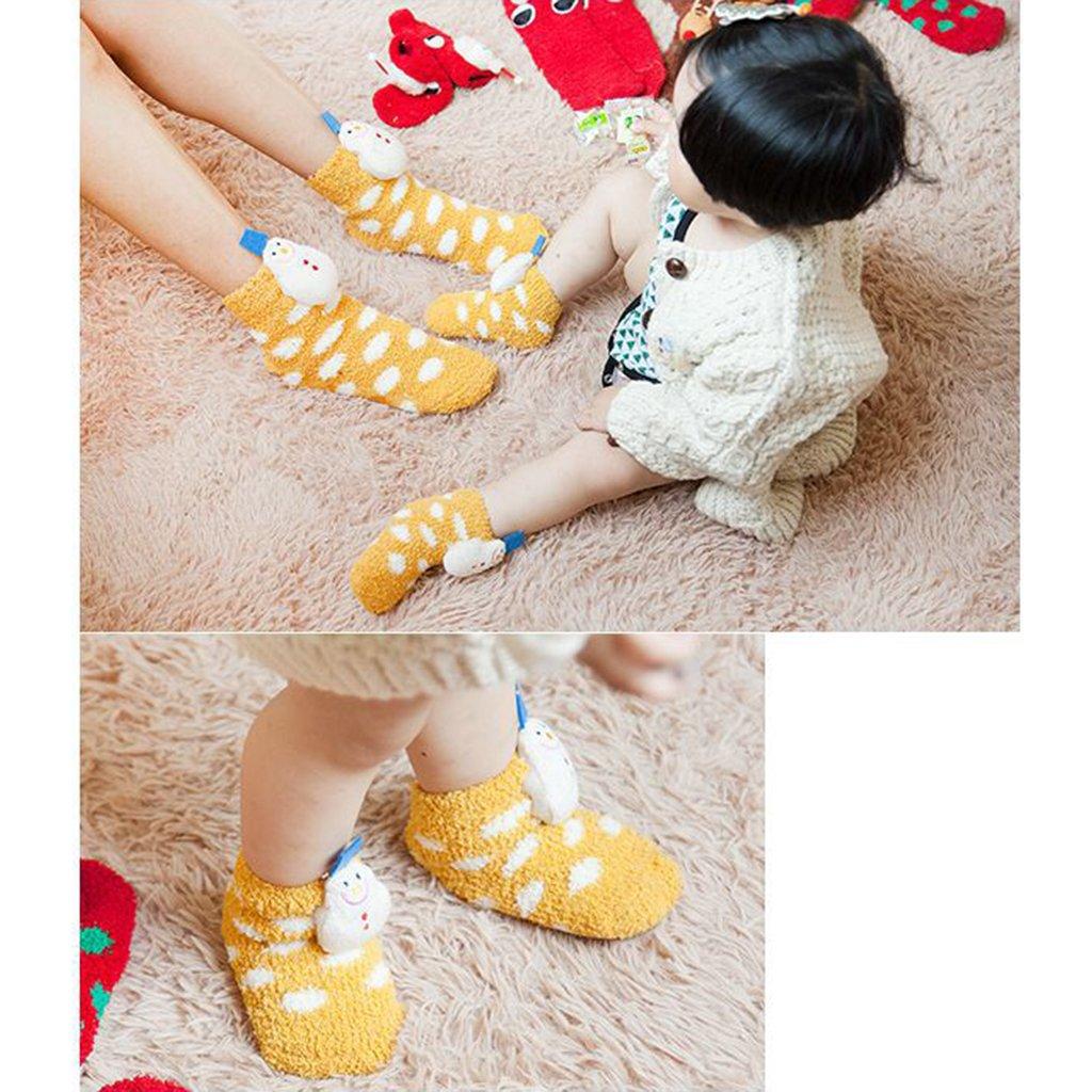Jili Online Newborn Baby Boys Girls Socks Infant Toddler Kids Christmas Soft Stocking