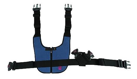 ubio chaleco abdominal acolchada con cierre de cremallera para silla de ruedas, talla S/