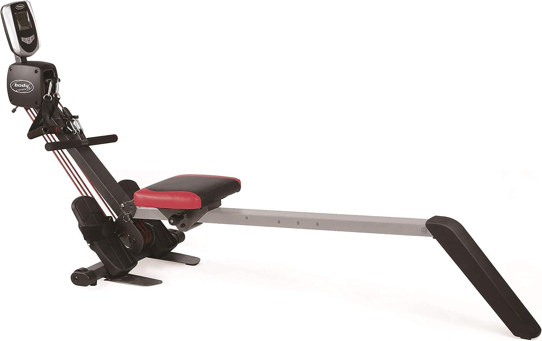 Bodycoach - Máquina de remo y tubo 2 en 1 (sistema de tracción de 3 bandas plegable)