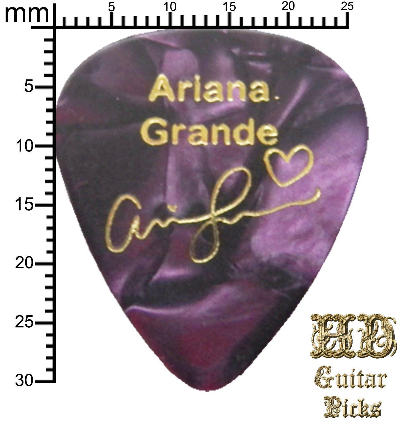 Firma de Ed Sheeran púa de guitarra Plectrum llavero pulsera ...