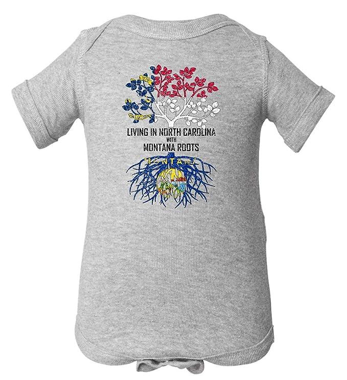 Tenacitee Unisex Living in Georgia North Carolina Roots Sweatshirt