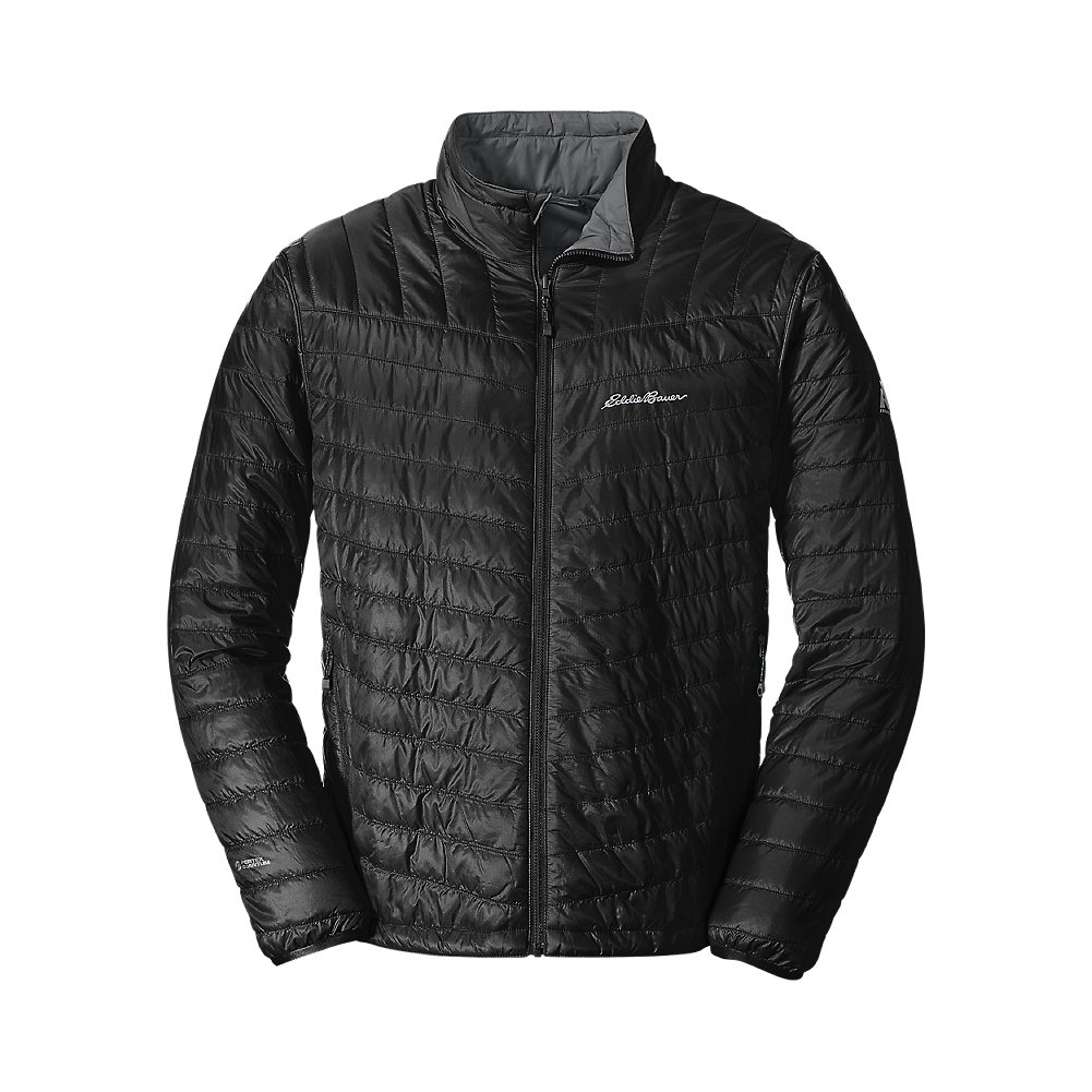 Eddie Bauer Men's IgniteLite Reversible Jacket, Blk Regular M by Eddie Bauer