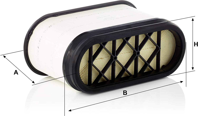 Original Mann Filter Cp 33 300 Compacplus Luftfilter Für Industrie Land Und Baumaschinen Auto