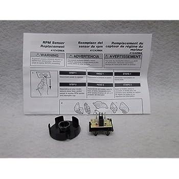 Amazon Com Garage Door Sensor Protector Black Plastic