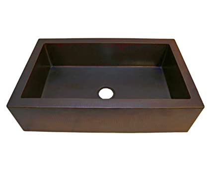Soluna Farmhouse Copper Sink - 36\