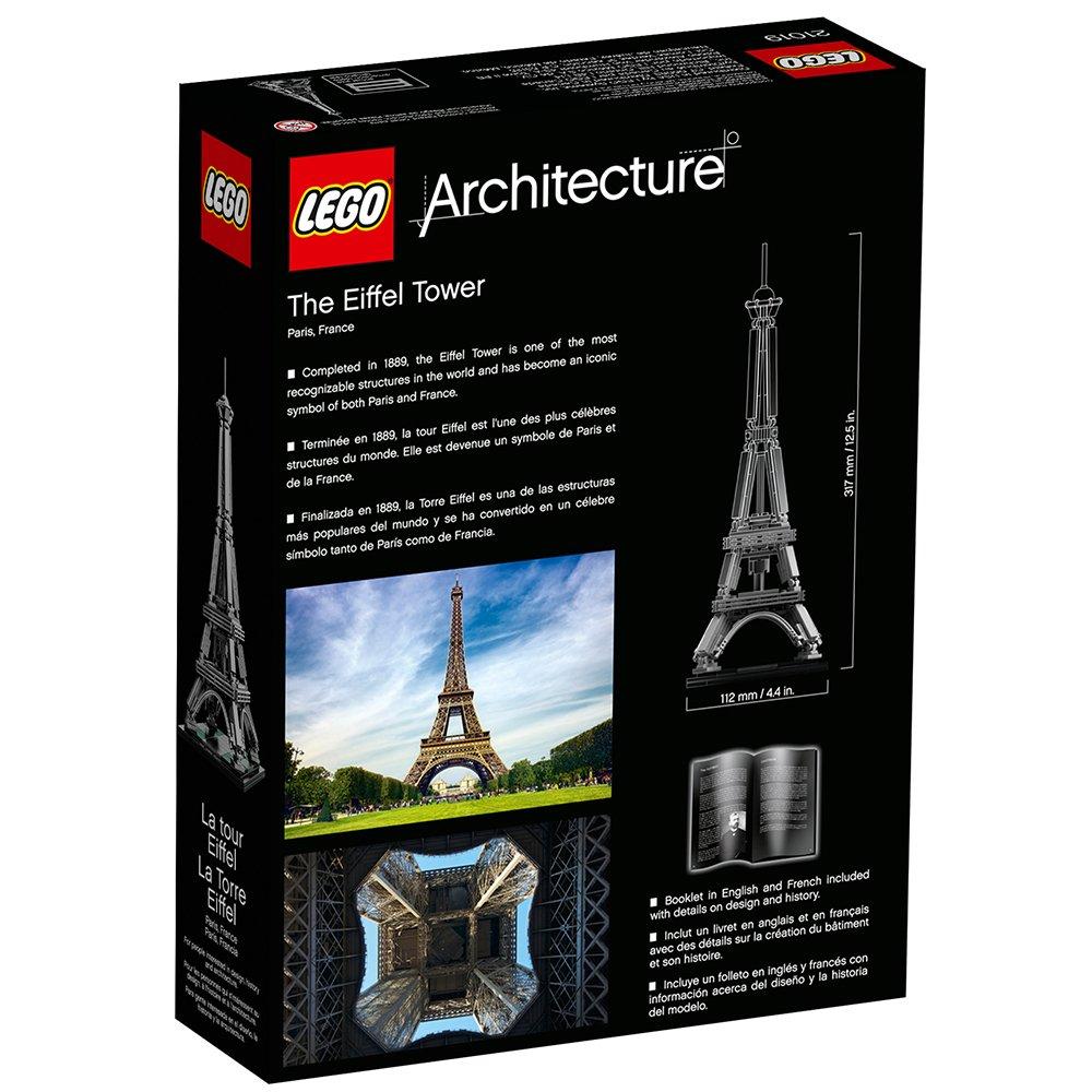 LEGO Architecture 21019: The Eiffel Tower by Samorthatrade: Amazon.es: Electrónica