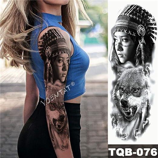 Handaxian 3pcsBracelet Tattoo Midnight Leopard Beauty Etiqueta ...