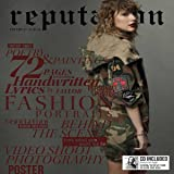 Taylor Swift Reputation CD and Exclusive 72 Page Magazine with Exclusive Photos Volume 2