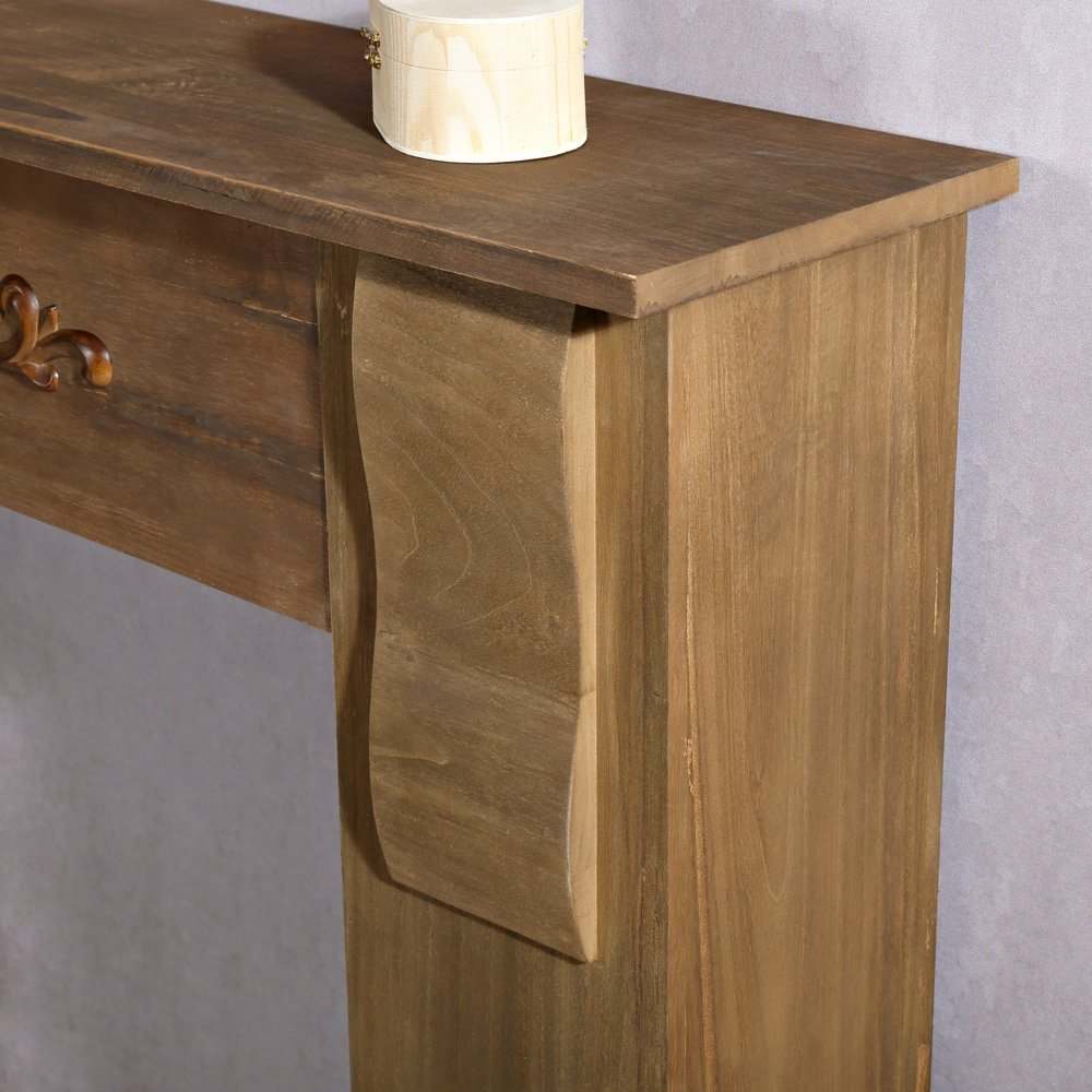 Modell 1919 Deko Kaminumbau aus Holz Melko/® Kaminumrandung im Landhaus Stil