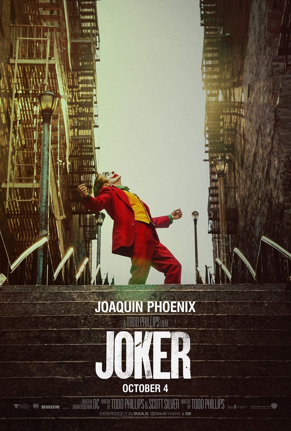 Rock-Poster Joker (2019 Film) Movie Poster and Prints Unframed Wall Art Gifts Decor 16x25 Poster 1