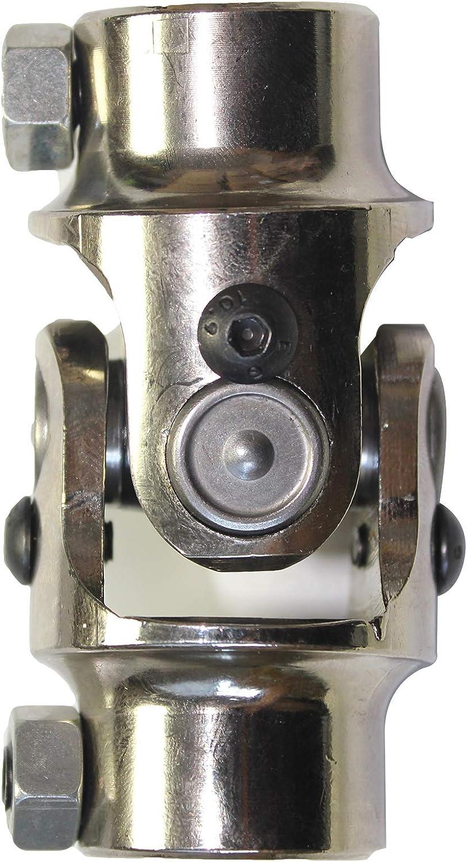 LOSTAR New Chrome Universal Steering U Joint 3//4 DD x 3//4 DD Hot Rat Street Rod