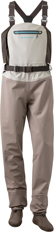 Redington Women's Sonic-Pro Fly Fishing Waders - Size Medium Long, Grey