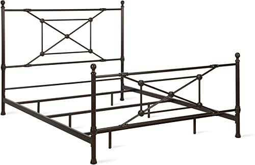 Dorel Living Beaumont, Bronze Queen Metal Bed,