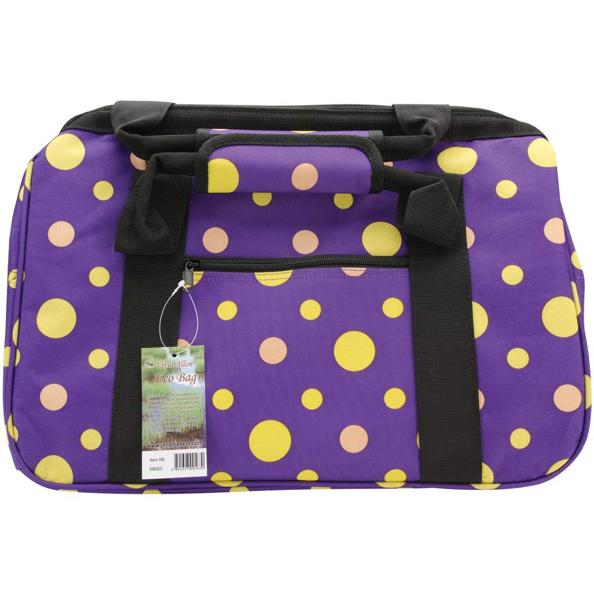 JanetBasket Eco Bag-18 inch x 10 inch x 12 inch Twilight EB023