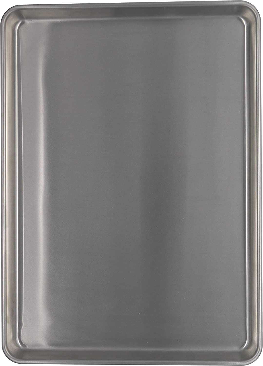 Chef Select Commercial Grade Mega Aluminum Baking Sheet, 21 x 15-Inches, Heavy Gauge Cookie Sheet