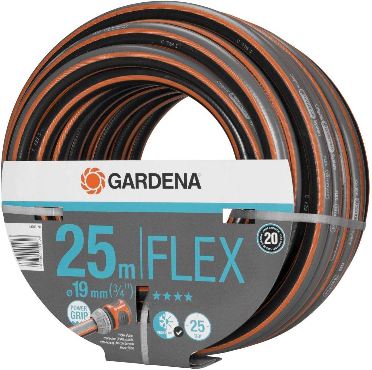 Gardena Comfort Flex Schlauch 25 m 3//4 18053 Garten Blumen Pflanzen