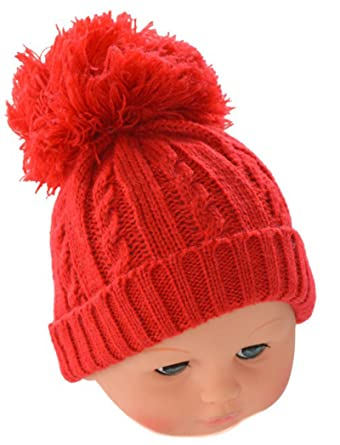 b7e690bff france baby boy knitted pom pom hats uk 36922 38630