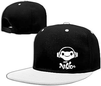 Overwatch Lucio Logo Unisex Outdoor Hip Hop B-Box Cotton Sanpback Cap Hat Adjustable Red