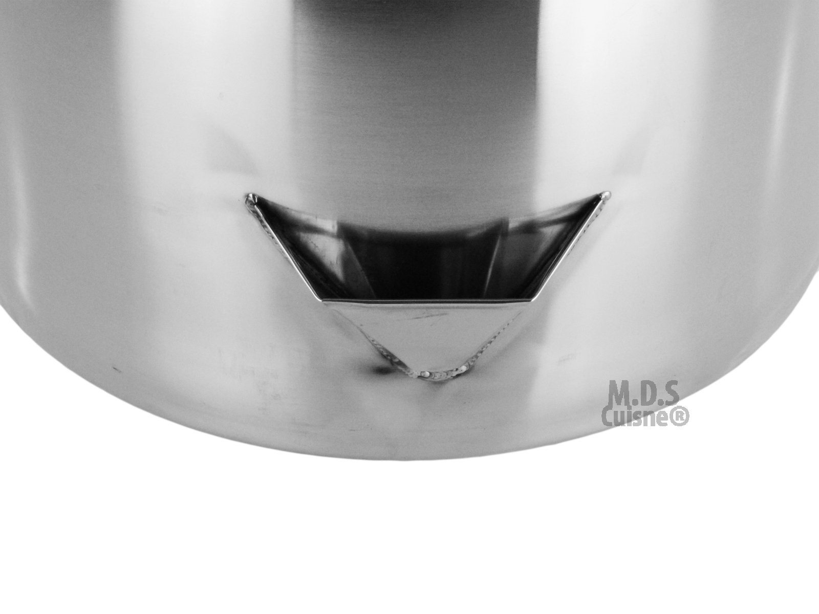 Stock Pot Stainless Steel 52''QT Lid Steamer Brew Vaporera Divider Tamales New by M.D.S Cuisine Cookwares (Image #4)