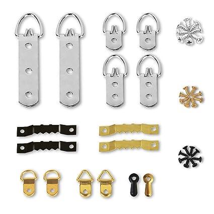 Amazon Com Picture Hanger Kit Lanmok 141 Sets Photo Frame Hanging