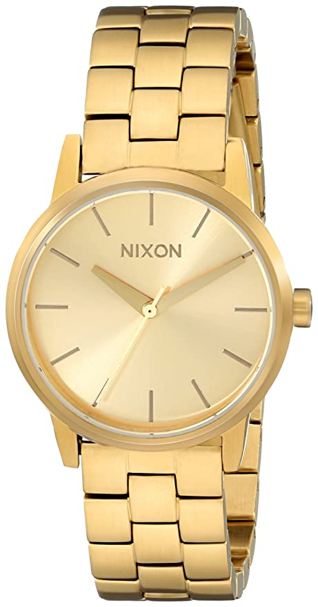 Steel Watch Stainless Nixon Small Women's Kensington CxoBde