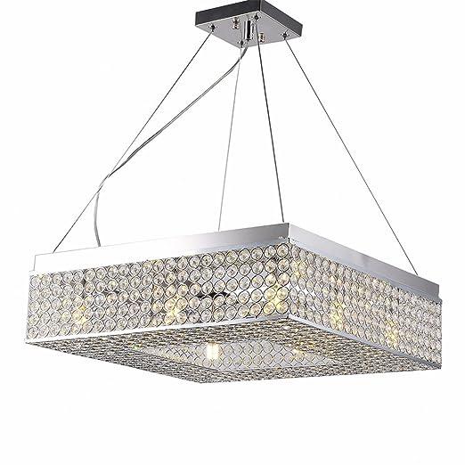 Amazon.com: LAONA LED Lámpara de techo de cristal colgante ...