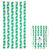 Quick Dry Beach Towels Large for Travel - Carnival, Large (160x80cm, 63x31) - Sand Free, Lightweight
