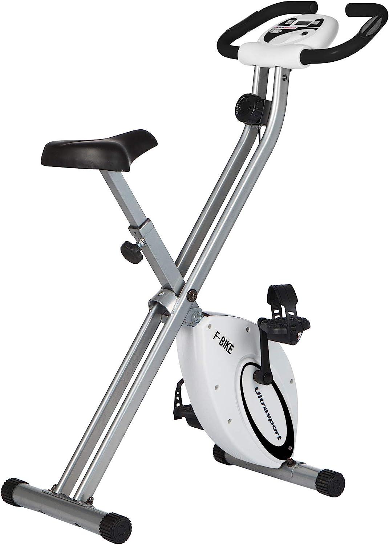 Ultrasport F-Bike Bicicleta estática de fitness, aparato doméstico ...
