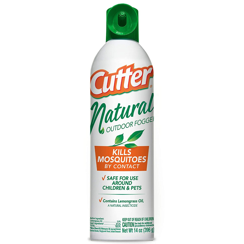 Cutter Natural Outdoor Fogger, Aerosol, 14-Ounce