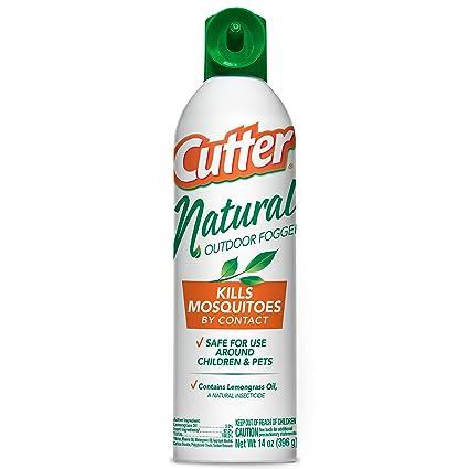 Amazon.com : Cutter Natural Outdoor Fogger, Aerosol, 14-Ounce : Cutter Mosquito Fogger : Garden & Outdoor