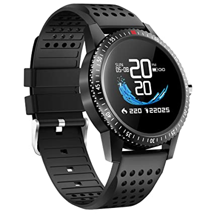 LAMONKE Smart Watch for Android iOS Phones Fitness Tracker Watch with Heart Rate Blood Pressure Monitor Sleep Activity Tracker IP67 Waterproof ...