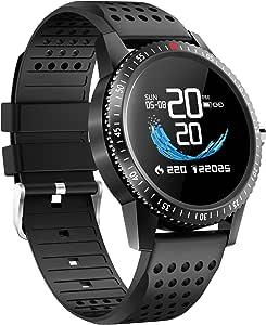 Amazon.com: LAMONKE Smart Watch for Android iOS Phones ...