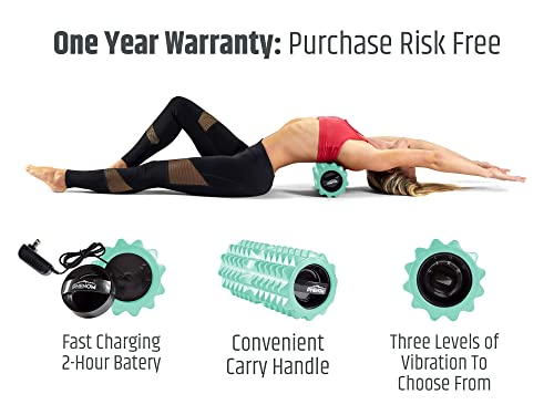 Phenom best ergonomic design vibrating foam roller