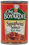 Chef Boyardee Spaghetti Sauce With Meat (Pack of 6)